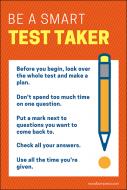 Be a Smart Test Taker
