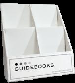 4-Pocket Book Display Unit