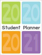 Elementary Student Planner 2020-21