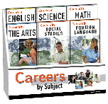 Careers by Subject Pamphlet Display Package