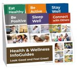 Health and Wellness Pamphlet Display Package