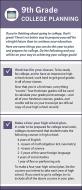 9th Grade College Planning