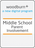 Woodburn Plus Middle School Parent Involvement Digital Resources Package